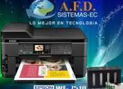 Impresora a3 epson workforce 7510 con sistema tinta continua