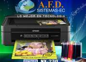 Impresora epson nx230 con sistema de tinta continuo