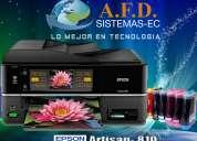 Impresora epson artisan 810 sistema de tinta continua