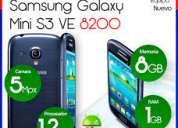 Vendo excelentes teléfonos samsung s3 mini i8200 nuevos y originales