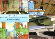 Master garcía (construccion, mantenimiento e instalaciones de techos y canalones)