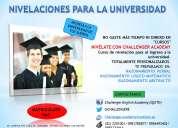 Cursos de nivelaciÓn para el ingreso a las universidades