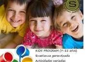 Clases de inglés para niños en el valle de los chillos