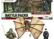 Vendo star wars® battle packs  battle for endor exclusivo 65,00