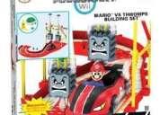 Mario bros vs thwomps k´nex colección tipo lego