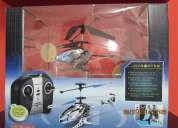 Vendo helicÓptero a control remoto, cuerpo metálico .