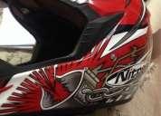 Vendo  casco racing español