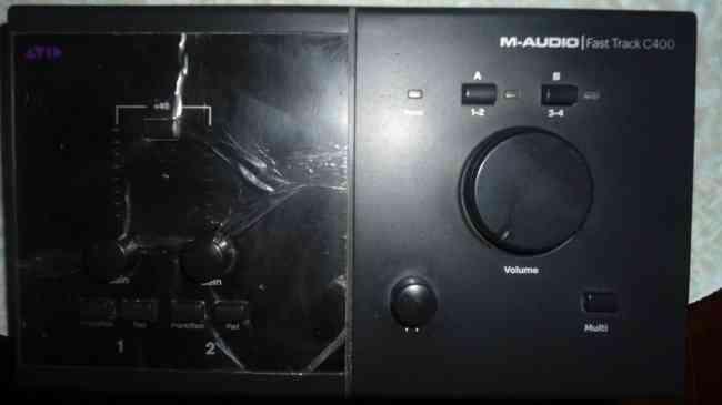 Tarjeta de Audio Fast Track C400