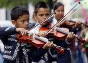 Totalmente gratis clases de: canto, violin, trompeta guitarron, vihuela