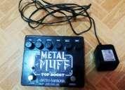 Pedal metal muff