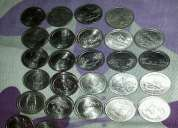 Monedas de 25 nuevas. parkes