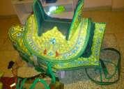 Vendo montura decorada ideal para desfiles o competencias de caballos