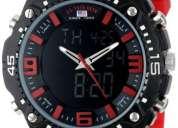 Reloj u.s. polo rojo