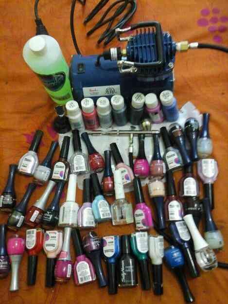 Soplete para decorar y pintar uñas