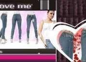 Los verdaderos jeans colombianos levanta cola ''love me'' nueva remesa