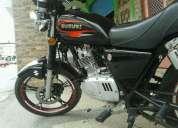 Linda super moto suzuki gn 125
