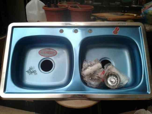 Vendo lavadero de cocina de doble pozo cuenca doplim - Lavaderos de cocina ...
