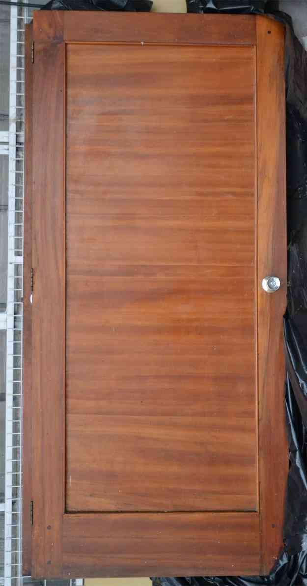 Puertas de madera buen estado cuenca doplim 420835 - Puertas usadas de madera ...