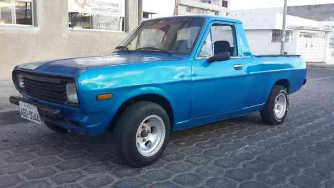 Vendo hermosisima camioneta nissan 1200 precio $4300
