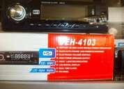 Radio para carro con usb, microsd, control remoto.
