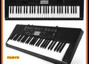 vendo teclado organo casio ctk 3200 61 teclas tipo piano 48 tonos