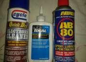 Accesorios de limpieza y lubricacion