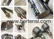 Resistencias electricas - sensores de temperatura y termocuplas - fabricacion -