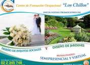 Cenocup - formación profesional: diseño de eventos sociales y diseño de jardines