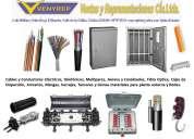Fibra optica, cables, materiales, redes