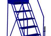 Escaleras móviles para bodegas