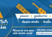 Musicasacademia. canto lírico y popular, ballet clásico, pintura, piano.