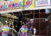 Parque para eventos infantiles