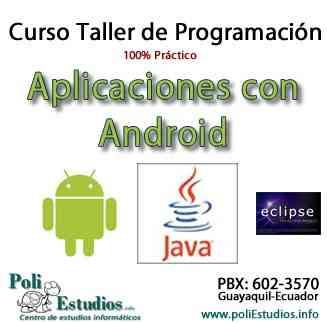 Curso de Android I con Fundamentos de Java