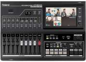 Brand new roland vr-50hd multi-format av mixer