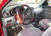 Mazda 3 rojo aÑo 2007  motor 1.6