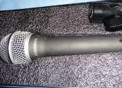 !como nuevo! micrófono cardio samson q7 con su clip porta micrófono...