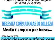 Consultora de belleza - octubre