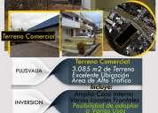 Terreno sector comercial valle de los chillos 0985813087