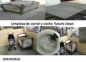 Futuro clean lavado y limpieza de coches corrales colchones y mas 0981902818