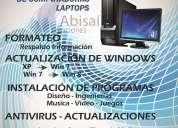 Reparación y mantenimiento de computadores y laptops