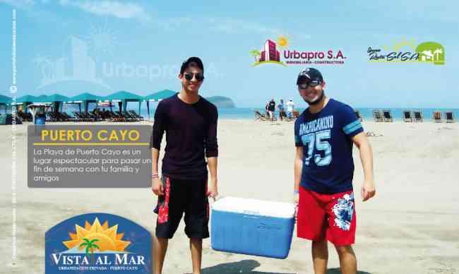 Compra tu terreno cerca de la playa de Puerto Cayo