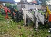 Brazo excavador para tractor