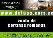 Cortinas romanas quito