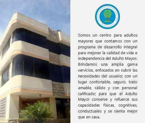 Centro de Atención Integral para el Adulto Mayor ¨LA VIDA ES BELLA¨
