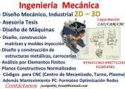 Diseño y planos de máquinas, curso de solidworks inventor, diseño industrial, asesoría  tesis