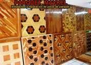 Pisos flotantes, pulida y lacados de pisos, pisos de madera, parquet maykel.
