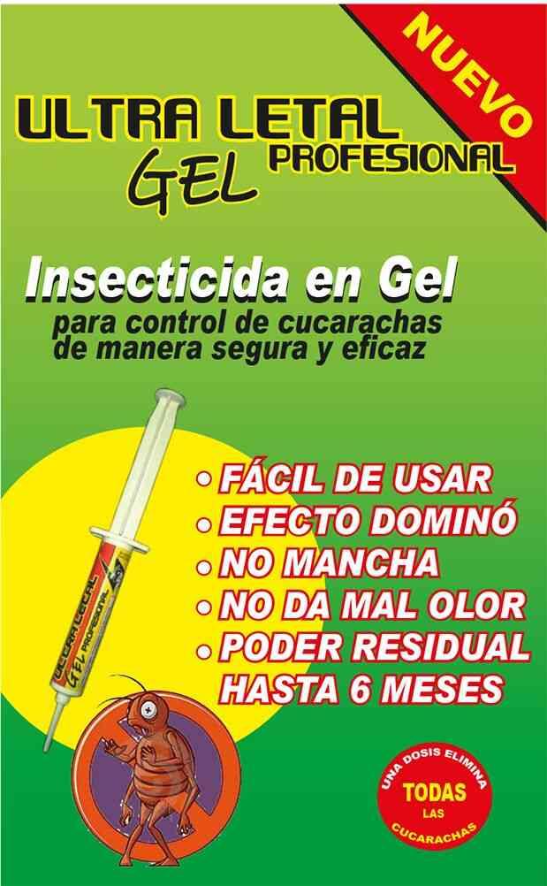 Gel Insecticida Ultra Letal.!!