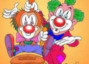 Contrata los servicios payasitos animaciones de fiestas infantil