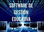 Software de gestiÓn educativa