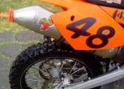 Venta cambio por auto o moto 300 flamante ktm sxs 450